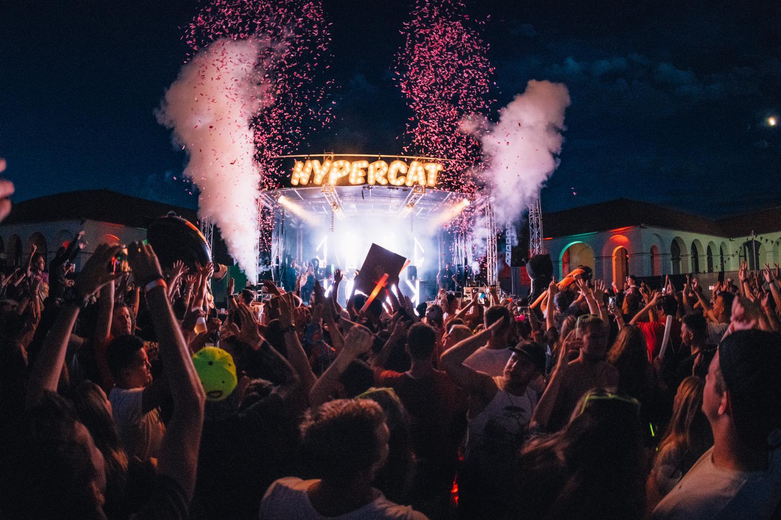 Hypercat Stage beim Fortland Festival 2020 Schwäbisch Hall Ilshofen