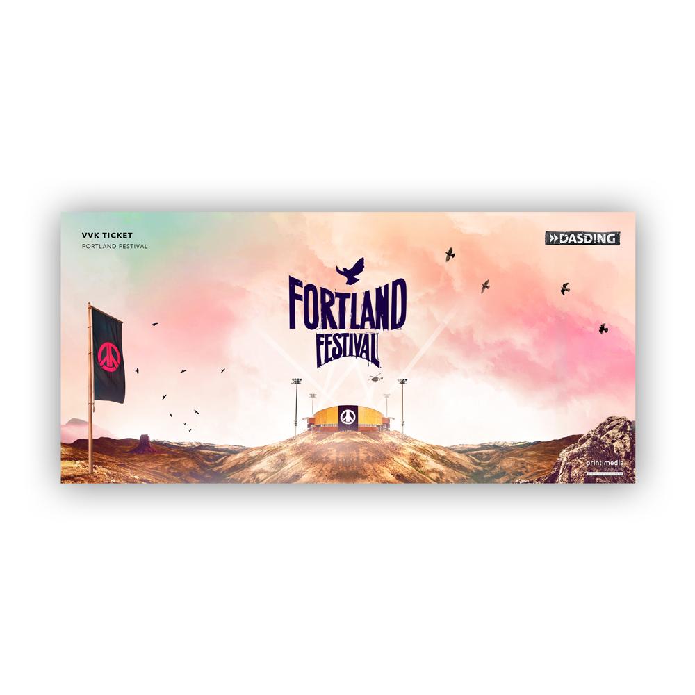 Fortland Festival Ticket