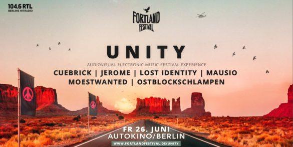 Unity - Audiovisual Electronic Music Festival Experience