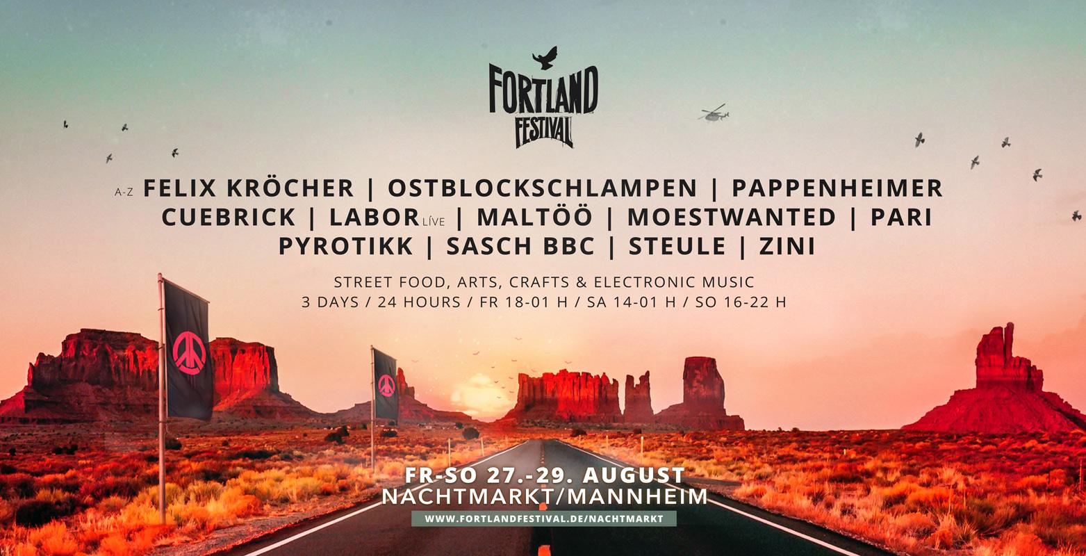Fortland Festival x Nachtmarkt Mannheim